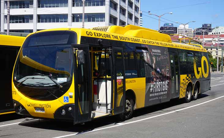 Go Wellington Designline trolleybus