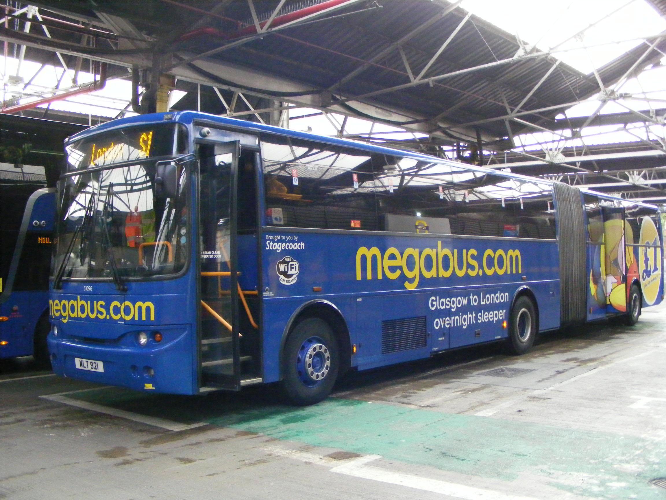 Megabus Uk Showbus Bus Image Gallery