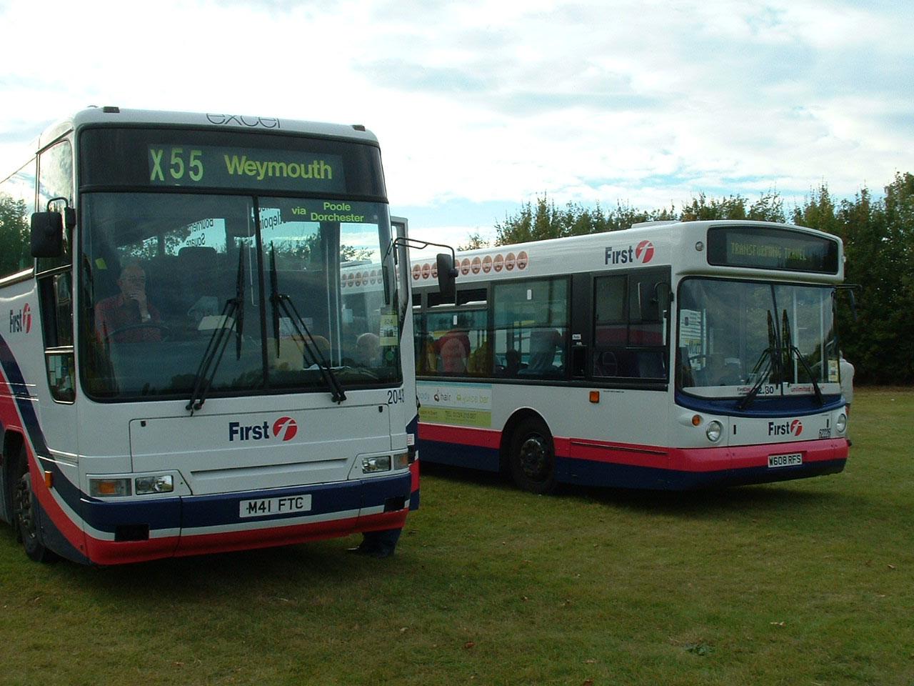 First Aberdeen Showbus Photo Gallery North Scotland