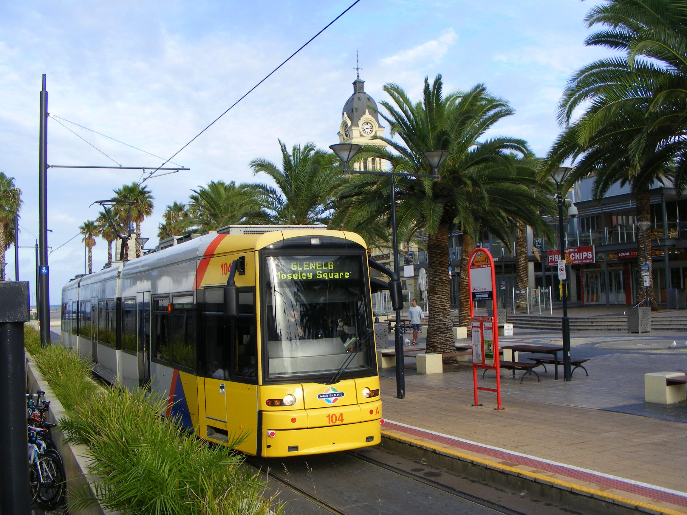 Adelaide Şehir İçi Ulaşım