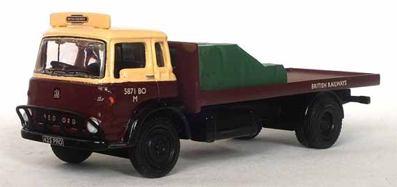 British Railways Bedford TK 2 axle flatbed