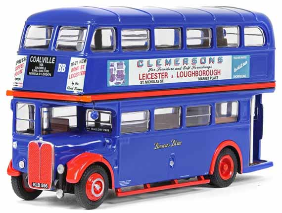 Browns Blue AEC Regent 3RT Weymann KLB596