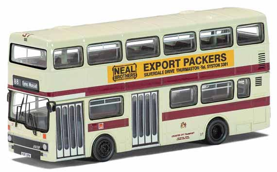 Leicester City Transport Showbus Model Fleet Focus