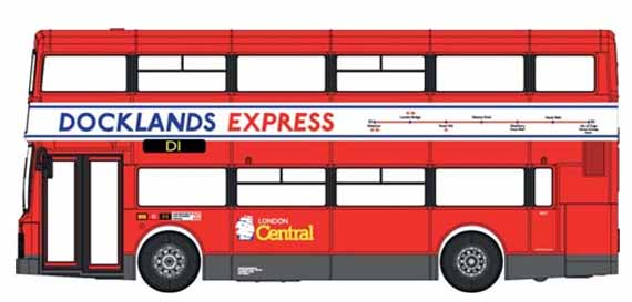 London Central Volvo Olympian Northern Counties Docklands Express