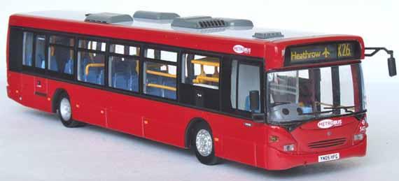 Metrobus Showbus Model Fleet Focus