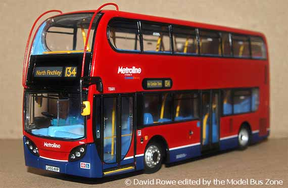 Showbus Model Fleet Focus - Metroline