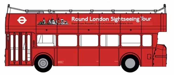 Round London Sightseeing Tour Leyland Atlantean MCW