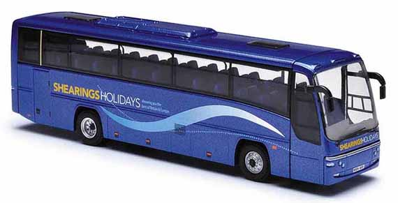 4mm scale diecast model buses and coaches