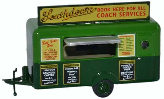 Southdown mobile booking office trailer