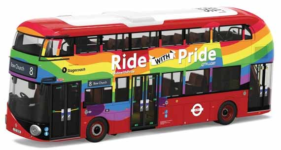 Stagecoach London New Routemaster Ride with Pride