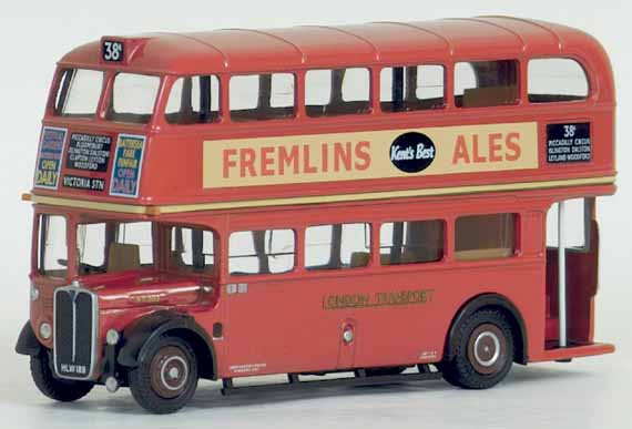 16407 AEC RT Roof Box LONDON TRANSPORT.