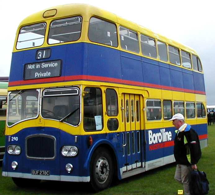 Southdown Queen Mary Leyland Titan PD3 Northern Counties with Maidstone Boroline