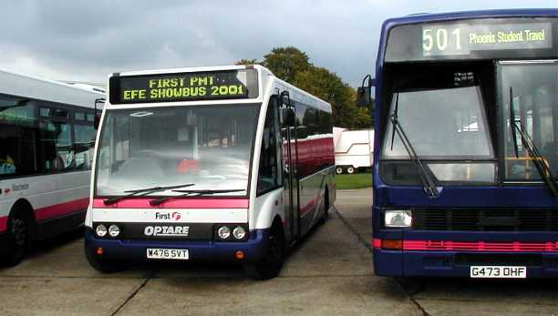 First PMT Optare Solo