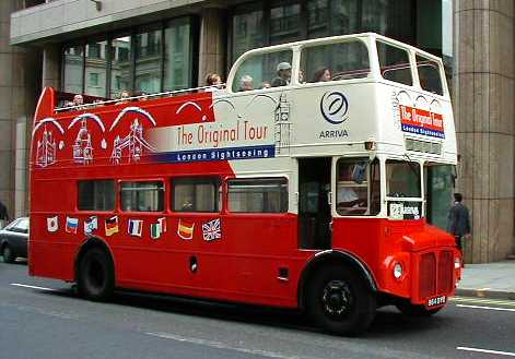 Original London Sightseeing Tour Routemaster RM1864