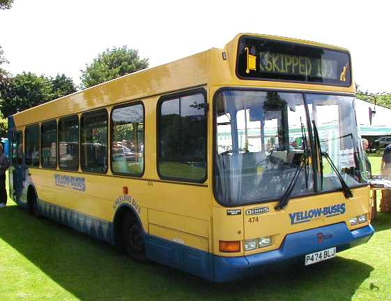 Yellow Buses Dennis Dart - East Lancs