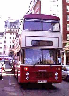 Original London Sightseeing Tour Bristol VRT Willowbrook TFN587T