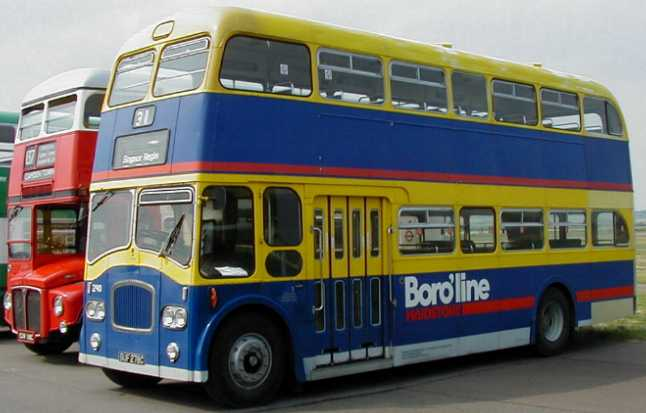 Southdown Queen Mary Leyland Titan PD3 Northern Counties 278 with Maidstone Boroline
