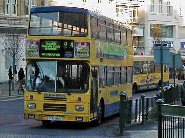 Bournemouth Yellow Buses Volvo Citybus - Alexander
