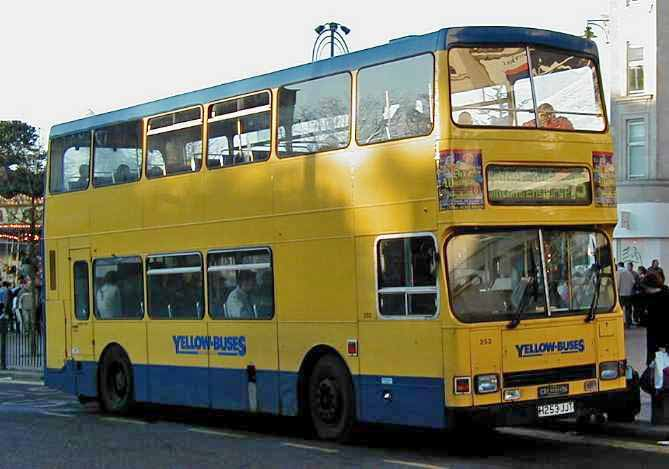 Yellow Buses Dennis Dominator - East Lancs