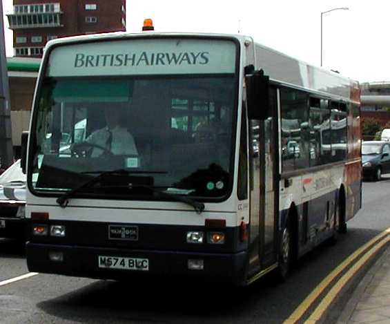 British Airways Van Hool M574BLC