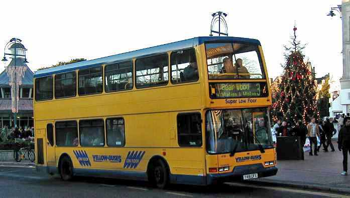 Bournemouth Yellow Buses East Lancs Volvo B7TL