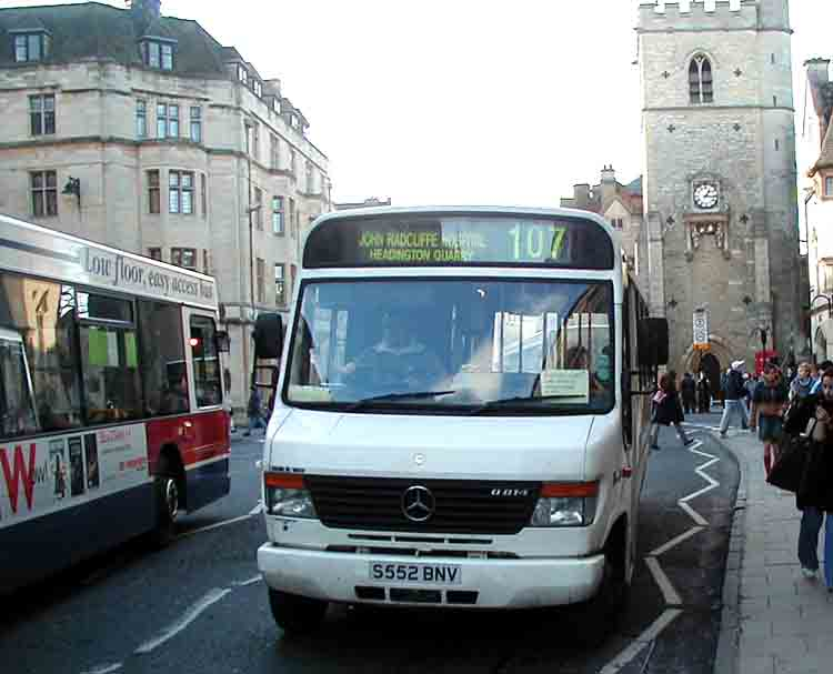 Thames Travel Mercedes Vario with Plaxton Beaver 2