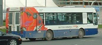 British Airways Van Hool
