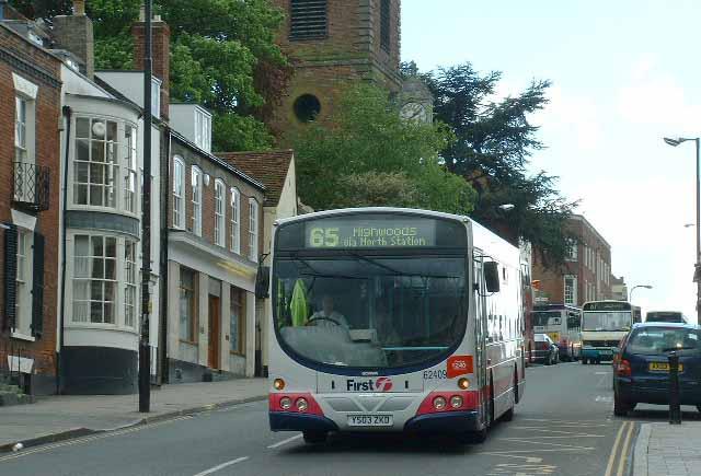 first bus 65 essex