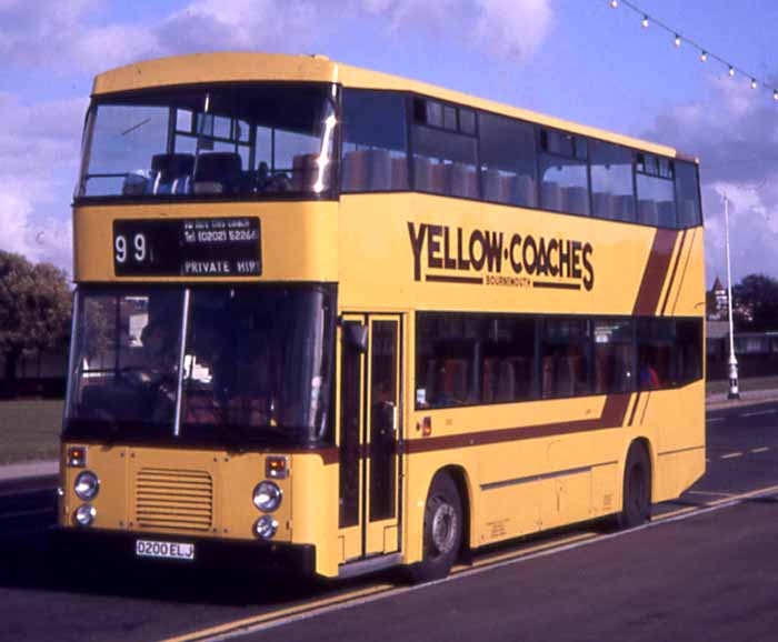 Bournemouth Yellow Coaches Volvo Citybus