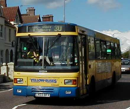 Yellow Buses Dennis Lance - East Lancs 403