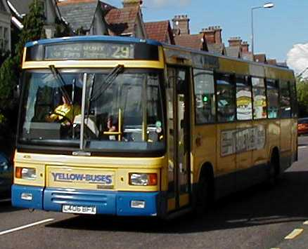 Yellow Buses Dennis Dart - East Lancs 406