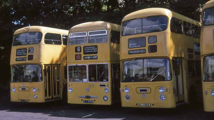 Bournemouth Corporation Daimler Fleetline MH Cars