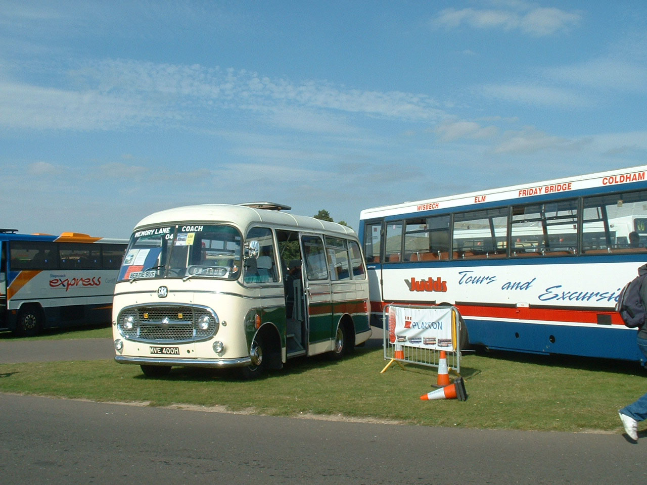 Embassy bodied Bedford J2.