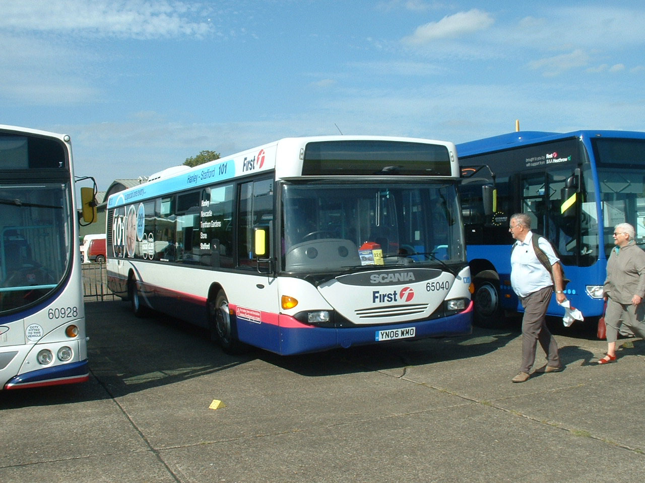First Potteries Scania Omnicity