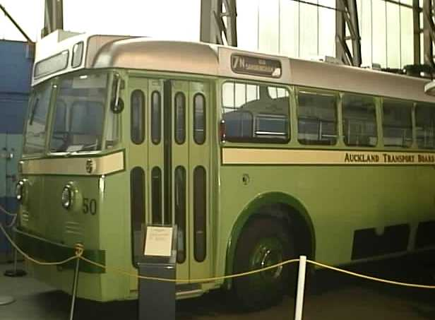 Auckland Transport Board AEC trolleybus