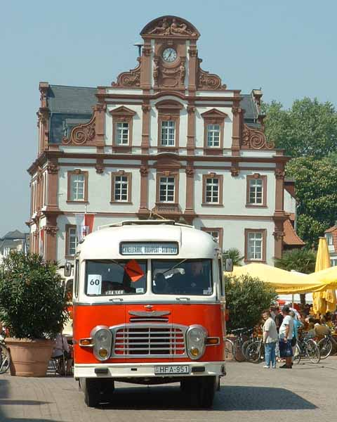 Ikarus Bus. This old Hungarian us was
