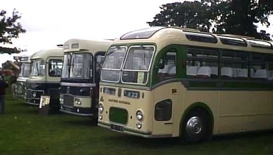 Royal Blue Bristol coaches