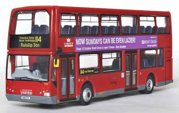 Showbus Model Fleet Focus - London Sovereign