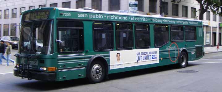 Ac Transit Showbus International Bus Image Gallery Usa