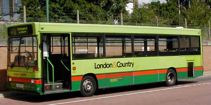 SHOWBUS PHOTO GALLERY Former London & Country